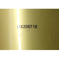 Wrappingfolie glanz pyrid gold - Hexis HX20000