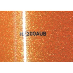 Wrappingfolie effekt orange brillant  - Hexis HX20000